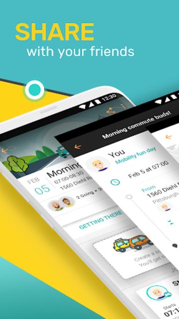 SoMo - Plan & Commute Together. Arrive Stress Free screenshot 3