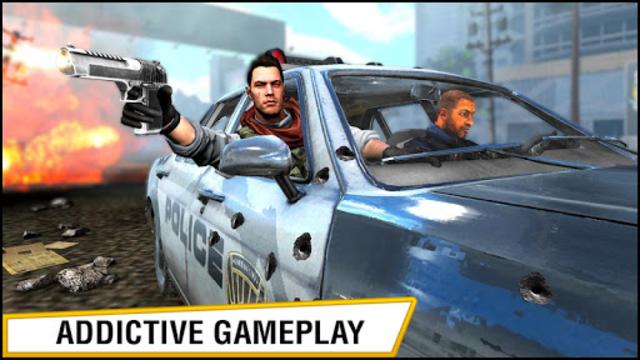 US Police Hero VS Vegas Gangster Crime Battle screenshot 1