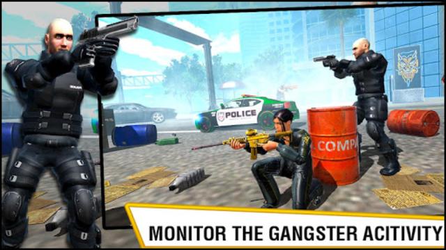 US Police Hero VS Vegas Gangster Crime Battle screenshot 2