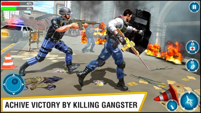 US Police Hero VS Vegas Gangster Crime Battle screenshot 10