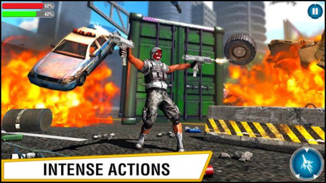 US Police Hero VS Vegas Gangster Crime Battle screenshot 14