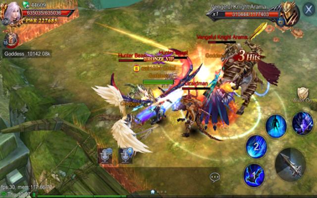 Goddess: Primal Chaos - Free 3D Action MMORPG Game