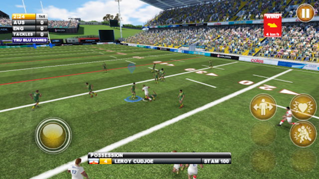 Rugby League Live 2: Quick screenshot 1