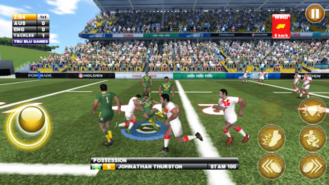 Rugby League Live 2: Quick screenshot 2