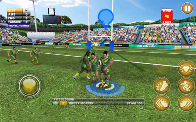 Rugby League Live 2: Quick screenshot 7