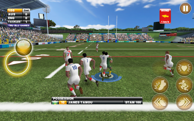 Rugby League Live 2: Quick screenshot 8