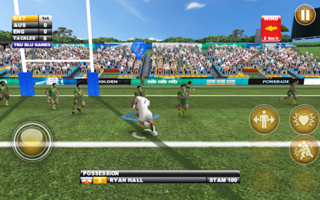 Rugby League Live 2: Quick screenshot 14