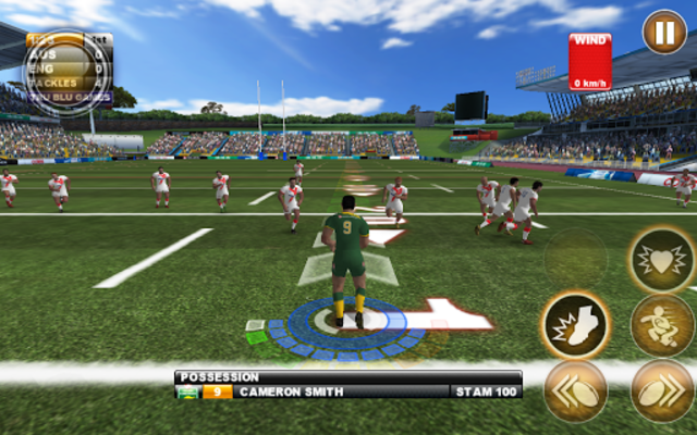 Rugby League Live 2: Quick screenshot 15