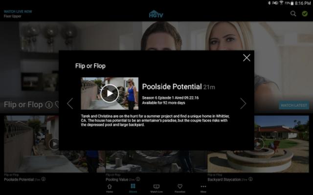 HGTV screenshot 11