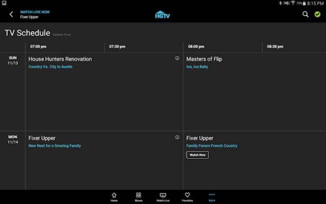 HGTV screenshot 13