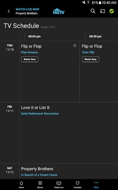 Stream Home Improvement TV Shows on Demand: HGTV screenshot 16
