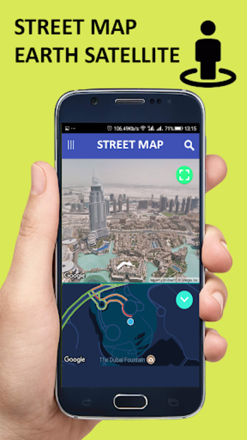 Voice GPS Driving Direction & Navigation Route screenshot 14