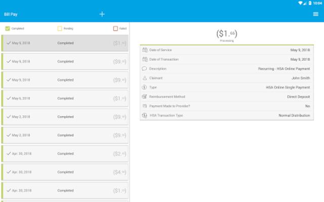 Highmark Blue Shield $pending screenshot 10