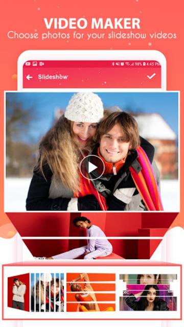 Video maker, video slideshow – Video editor screenshot 4