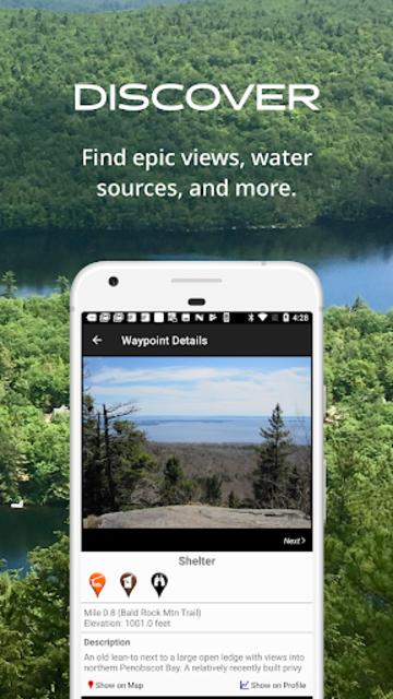 New England Hiker screenshot 4
