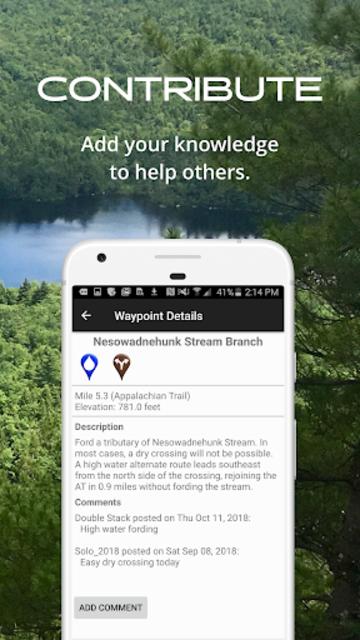 New England Hiker screenshot 5