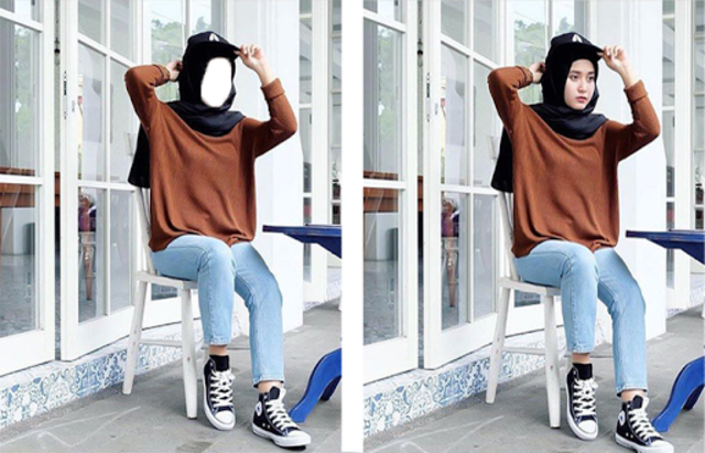 About Hijab Jeans Fashion Style Photo Frames Google Play Version