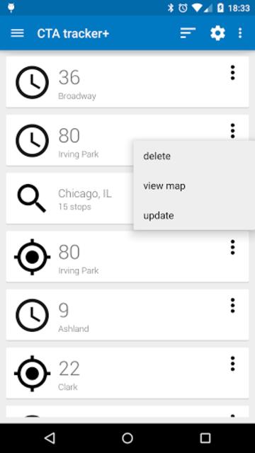 Transit Tracker+ - CTA screenshot 1