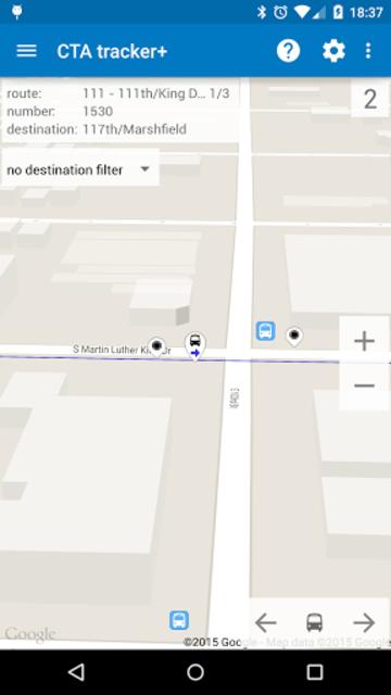 Transit Tracker+ - CTA screenshot 2