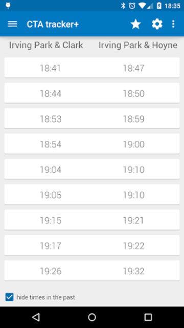 Transit Tracker+ - CTA screenshot 4