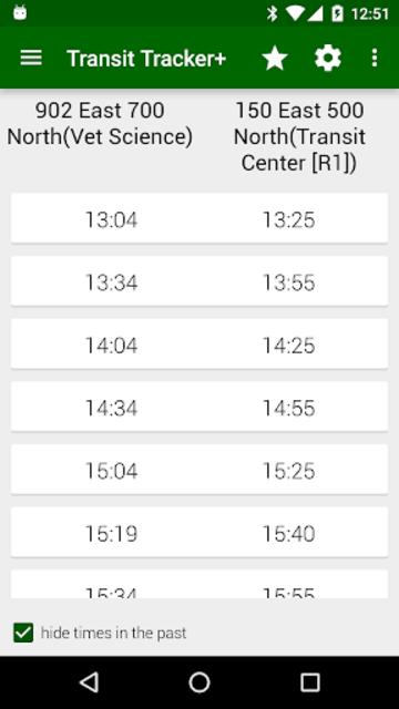 Transit Tracker+ - CVTD screenshot 4