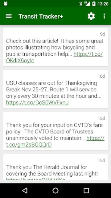 Transit Tracker+ - CVTD screenshot 7