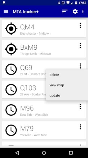 Transit Tracker+ - MTA screenshot 1