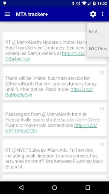Transit Tracker+ - MTA screenshot 7