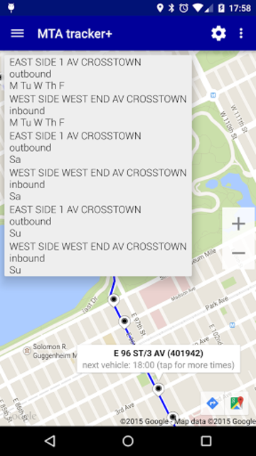 Transit Tracker+ - MTA screenshot 4