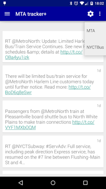 Transit Tracker+ - MTA screenshot 7