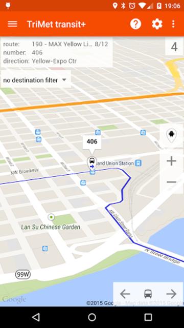 Transit Tracker+ - TriMet screenshot 2