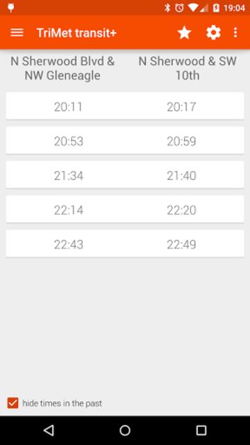 Transit Tracker+ - TriMet screenshot 3