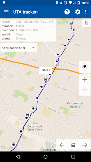 Transit Tracker+ - UTA screenshot 2