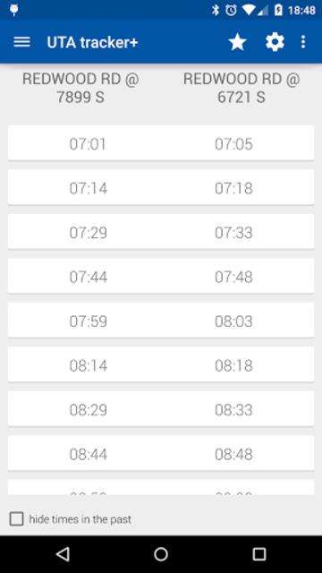 Transit Tracker+ - UTA screenshot 2