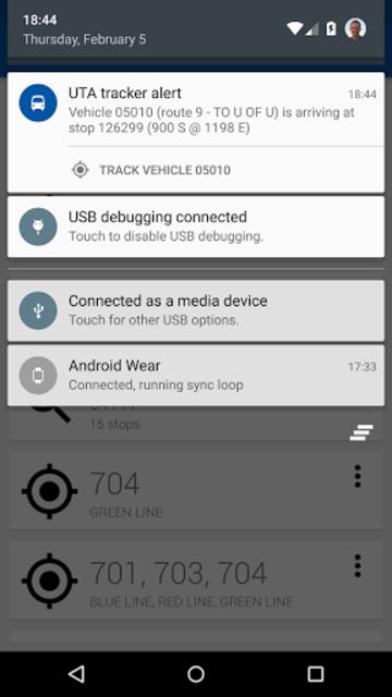 Transit Tracker+ - UTA screenshot 5