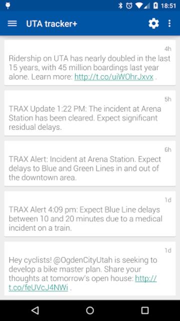 Transit Tracker+ - UTA screenshot 6