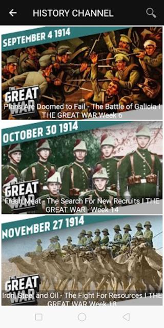 Military History : Best Documentaries screenshot 1