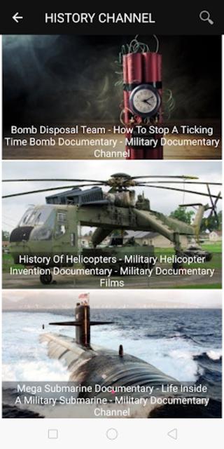 Military History : Best Documentaries screenshot 10