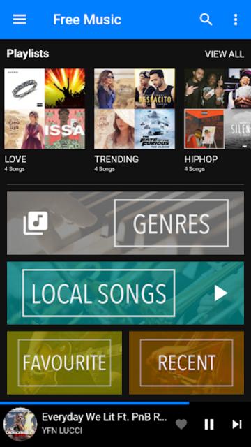Free Music - Online & Offline Music screenshot 1