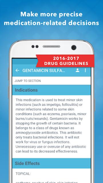 Drug Database 2017 screenshot 1