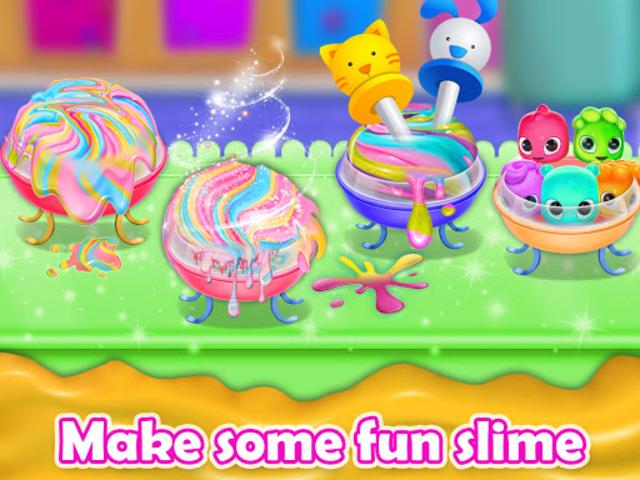 Fluffy Unicorn Slime Maker Simulator screenshot 2