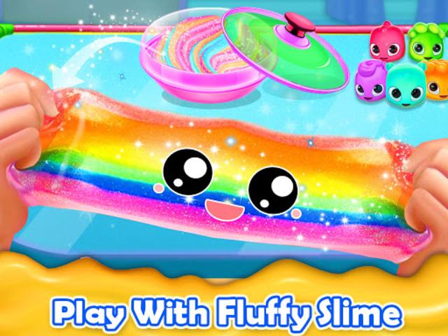 Fluffy Unicorn Slime Maker Simulator screenshot 4