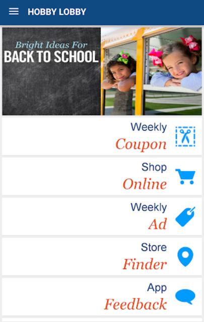 Hobby Lobby Stores screenshot 1