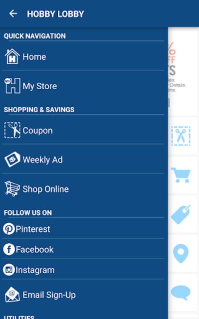 Hobby Lobby Stores screenshot 2