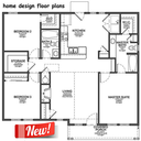 Icon for home design floor plans