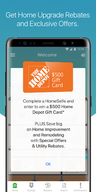 HomeSelfe screenshot 1