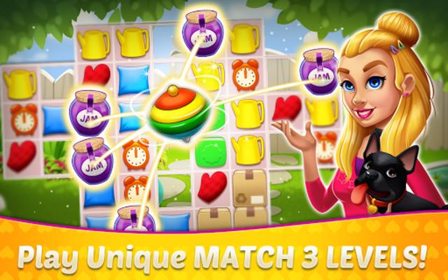 Home Design & Mansion Decorating Games Match 3 screenshot 7