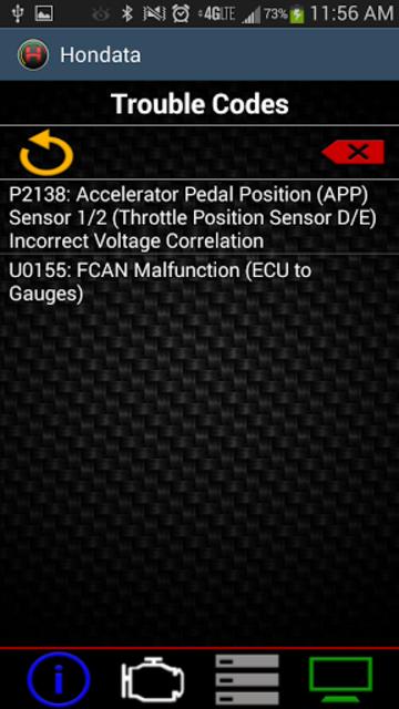 Hondata Mobile screenshot 3