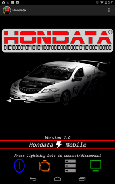 Hondata Mobile screenshot 6