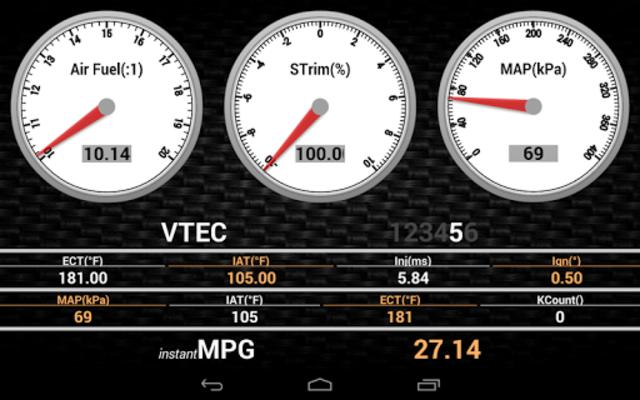 Hondata Mobile screenshot 8